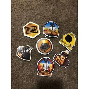Other - 7 PUBG Stickers
